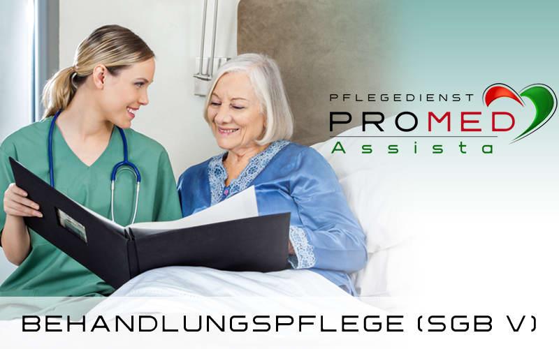 Pflegedienst Dietzenbach PROMED Assista Behandlungspflege