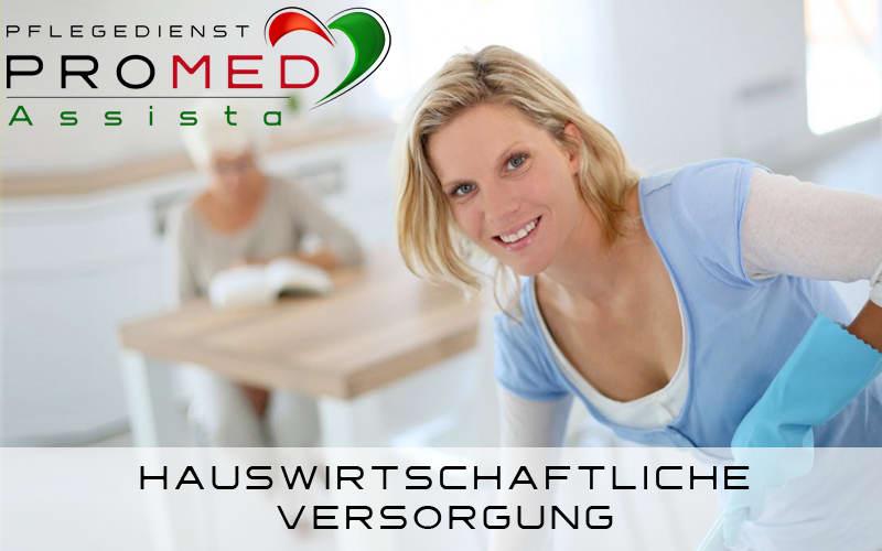 Hauswirtschaftliche Versorgung Entleistungsleistungen - Pflegedienst Dietzenbach