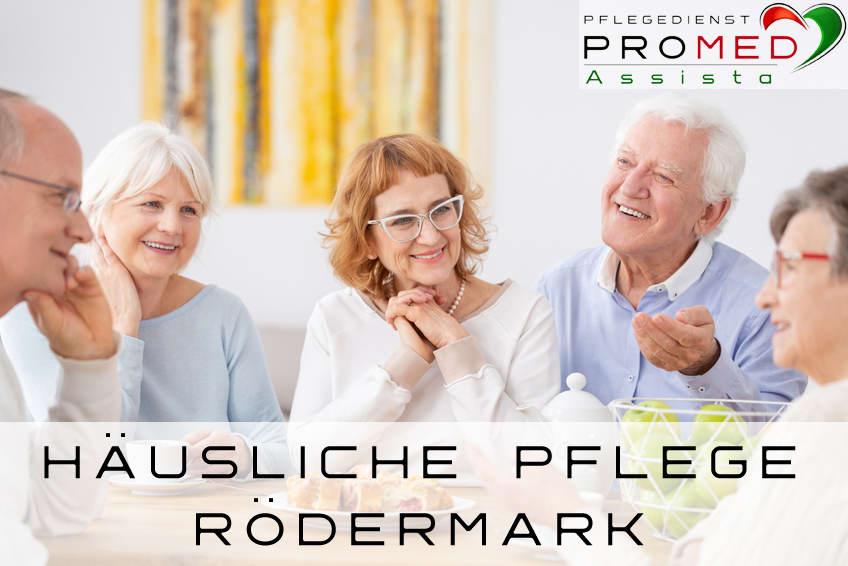 Pflegedienst Rödermark häusliche Pflege in Rödermark