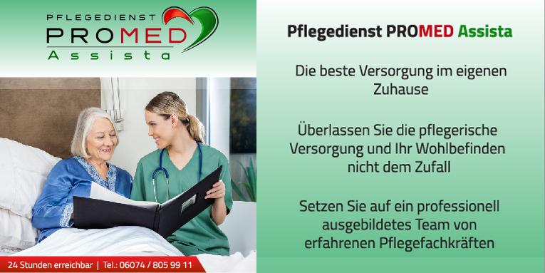 Flyer PROMED Assista Dietzenbach