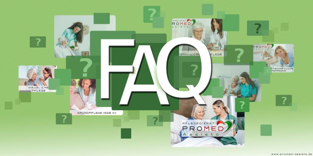 FAQ Häufig gestellten Fragen zum Thema Ambulante Pflege